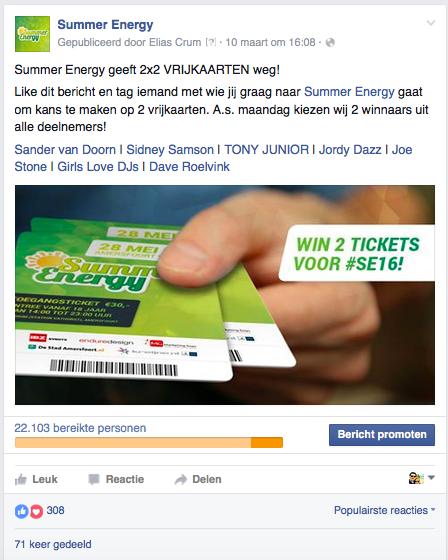 Beeld in Facebook ads