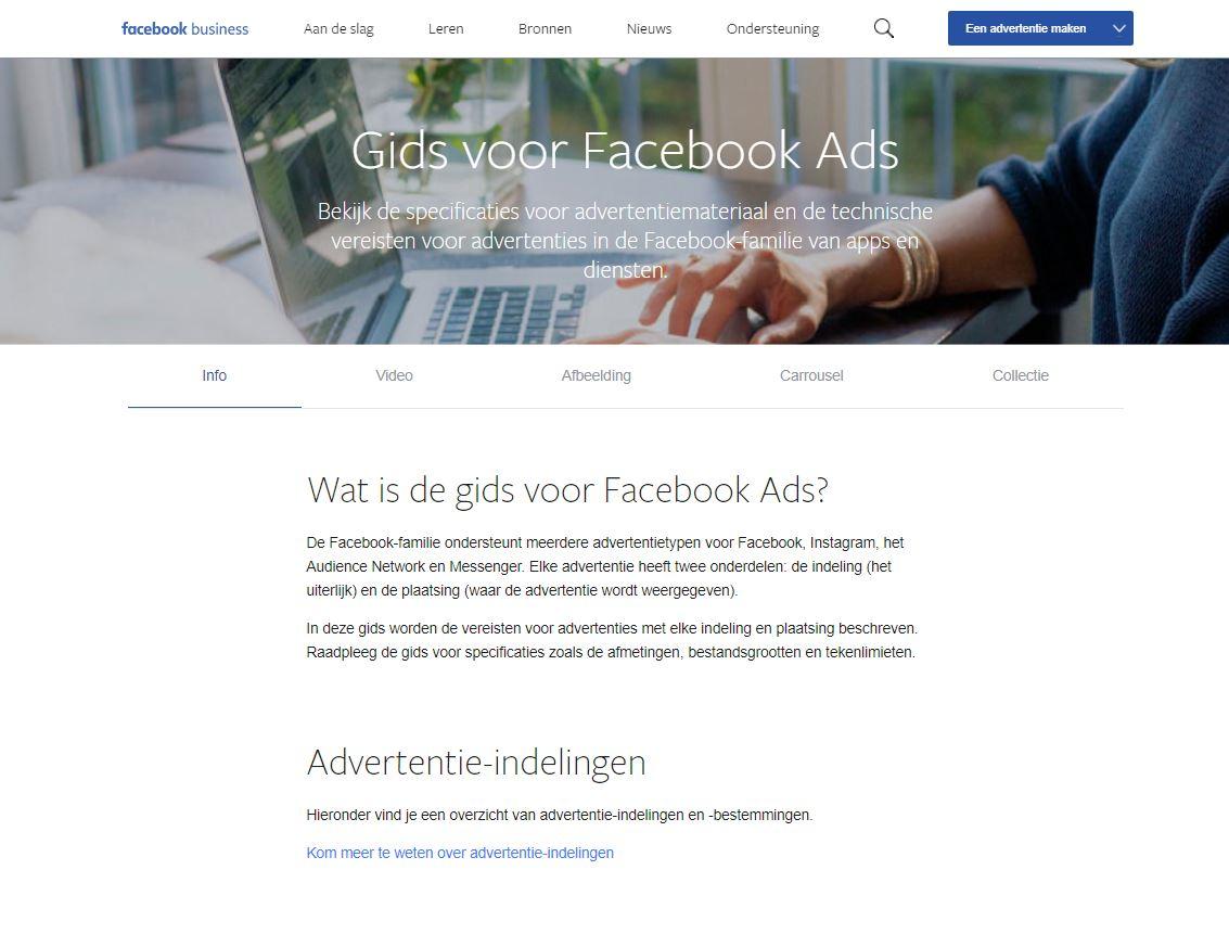 Facebook gids