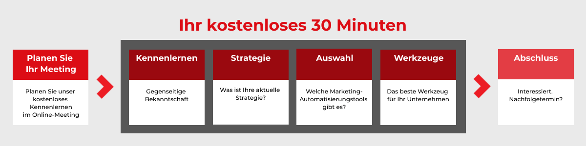 Marketing Guys 30 min. meeting